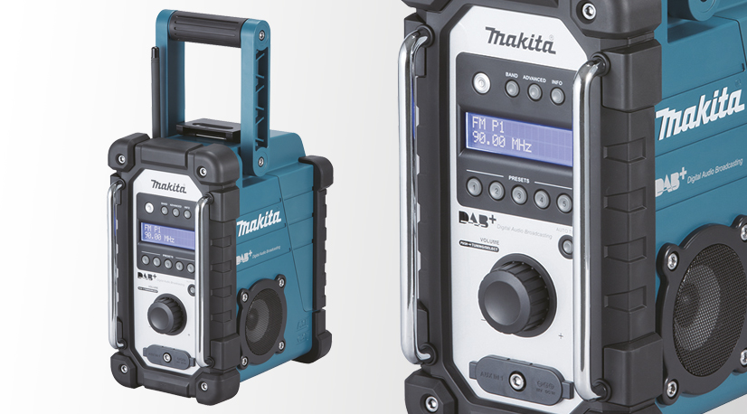 test et avis radio de chantier makita dmr110. Black Bedroom Furniture Sets. Home Design Ideas